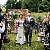 Butterfly Release at Wedding to Honor a Loved One