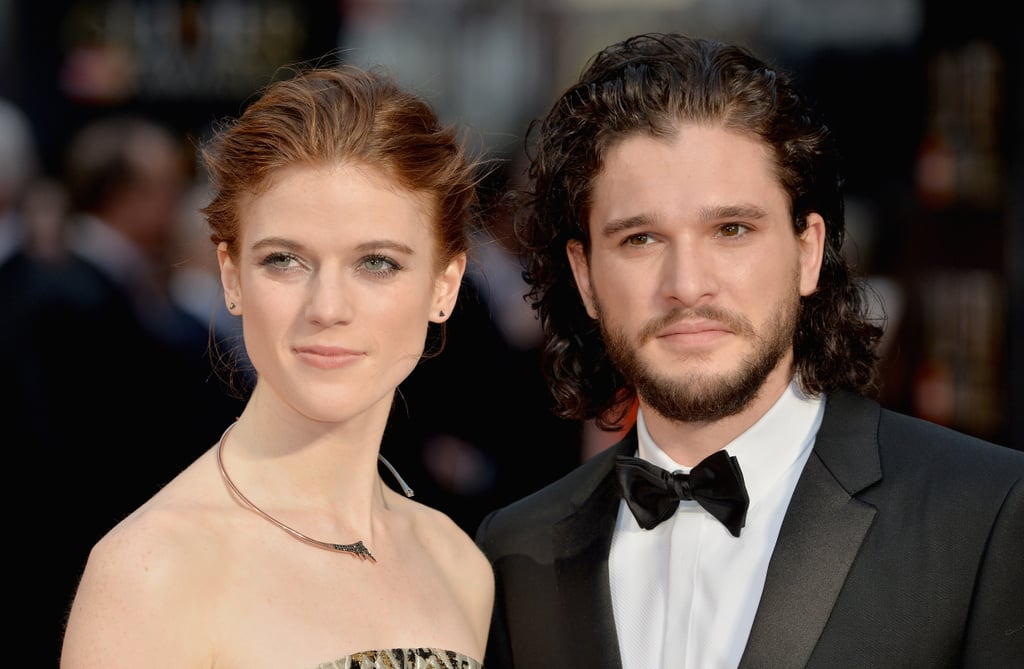Kit Harington and Rose Leslie Make Their Relationship Red Carpet Official