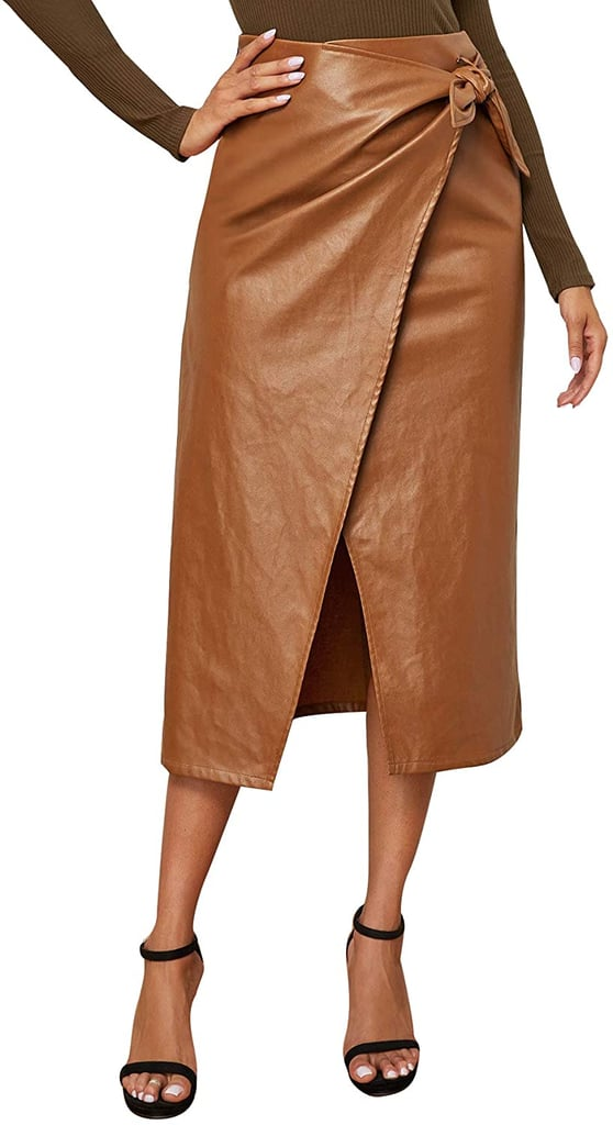SweatyRocks Elegant High Waist Skirt