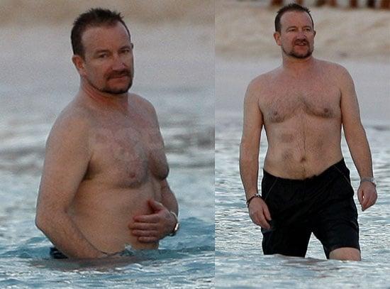 Shirtless Bono!