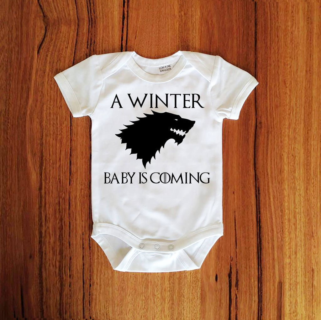 Game Of Thrones Baby Clothes Popsugar Moms