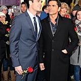 2 of the World's Most Eligible Bachelors, Ben Higgins and John Stamos, Casually Hang Out