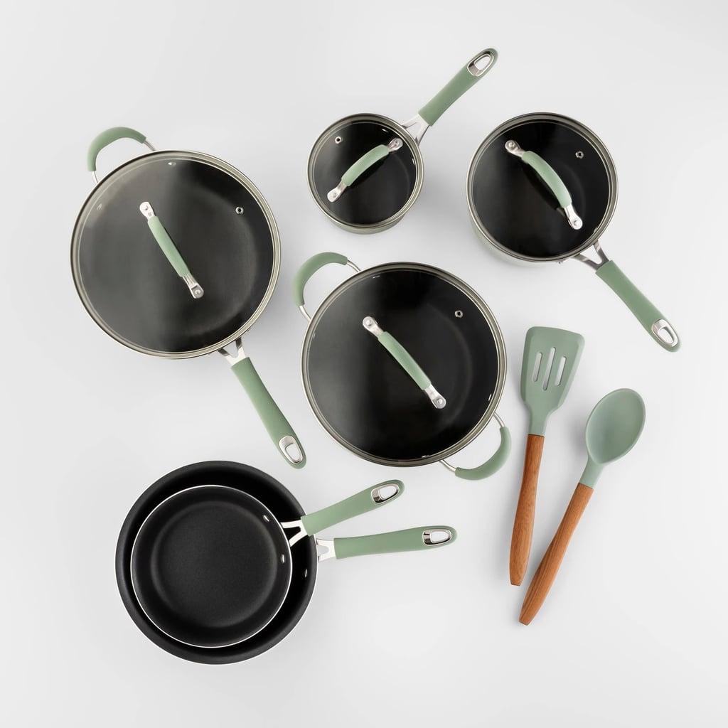 Cravings by Chrissy Teigen 12-Piece Aluminum Cookware Set