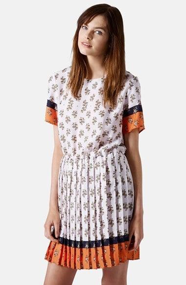 Topshop Printed Dress