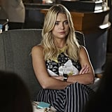 When she's got on striped pants, Hanna means business.
