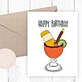 Happy Birthday Michelada Card ($5)