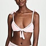 She Made Me Lalita Crochet Bikini Top and Bottom