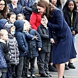 Duchess of Cambridge out in London January 2018