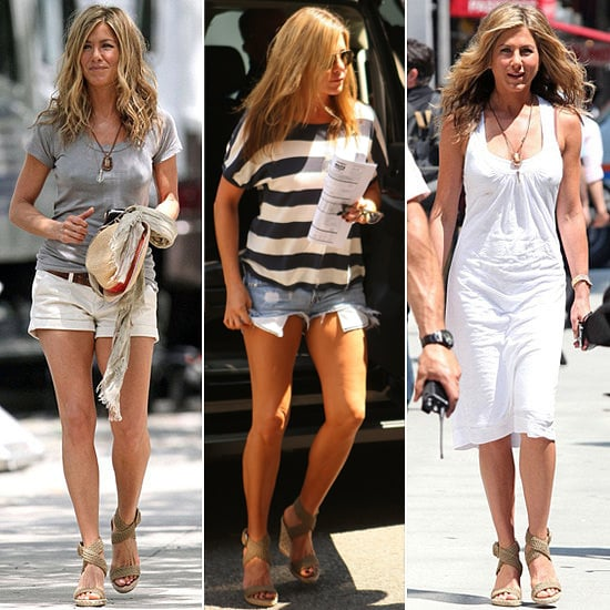 Jennifer Aniston 39 S Favorite Wedges Popsugar Fashion