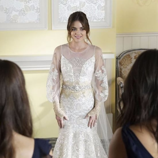 Aria's Wedding Dress on Pretty Little Liars