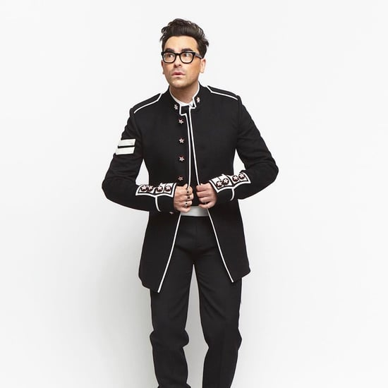Dan Levy's Dior Suit at the 2021 Critics' Choice Awards