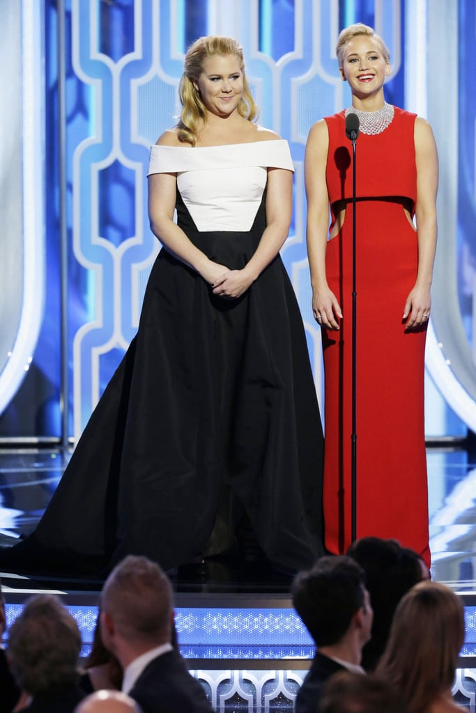 Amy Schumer Presenting With Jennifer Lawrence