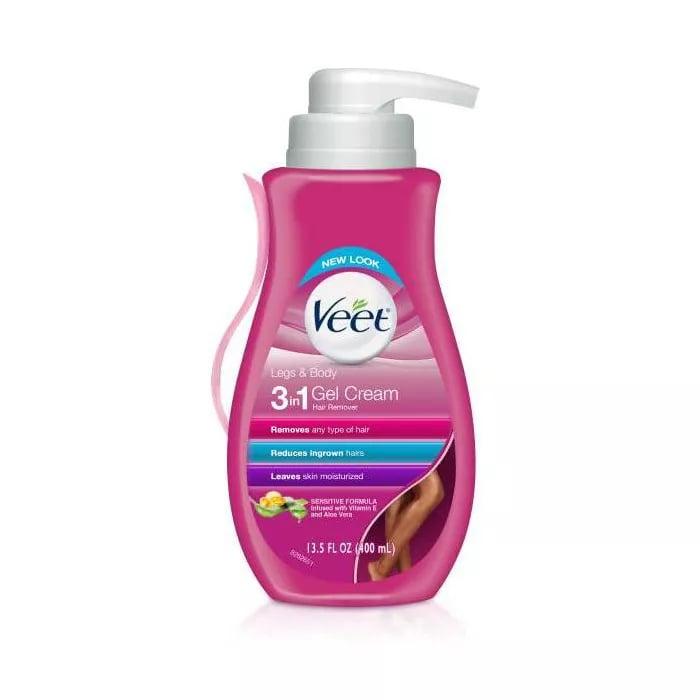 Veet Aloe Vera Legs & Body Hair Remover Gel Cream