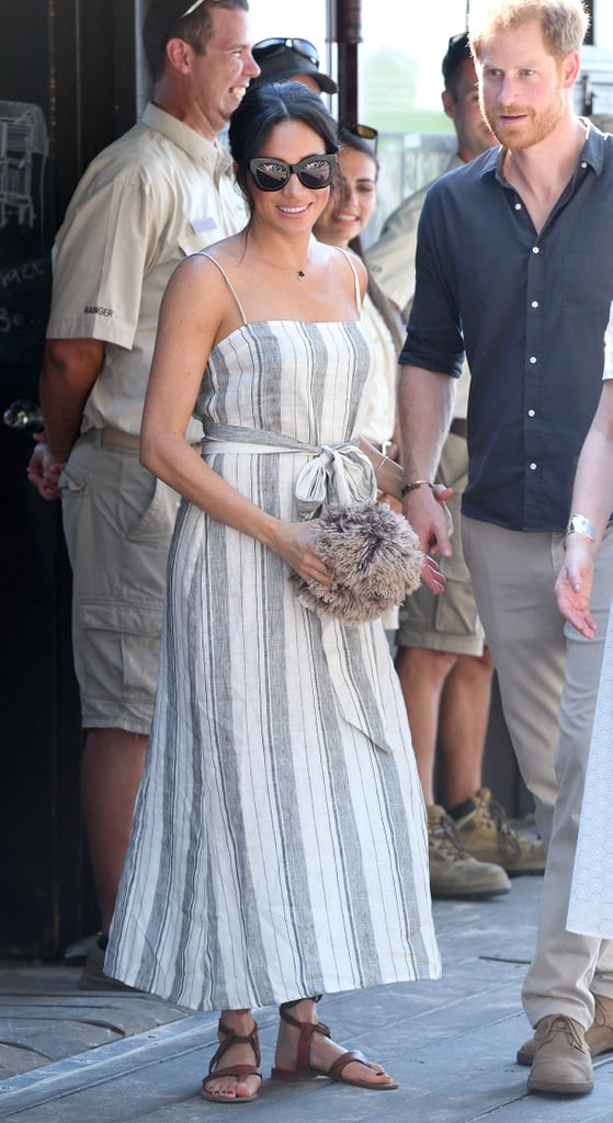 Meghan Markle Striped Reformation Dress Australia 2018