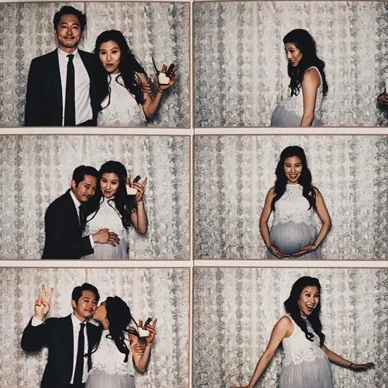 Steven Yeun and Joana Pak Pregnancy Instagram
