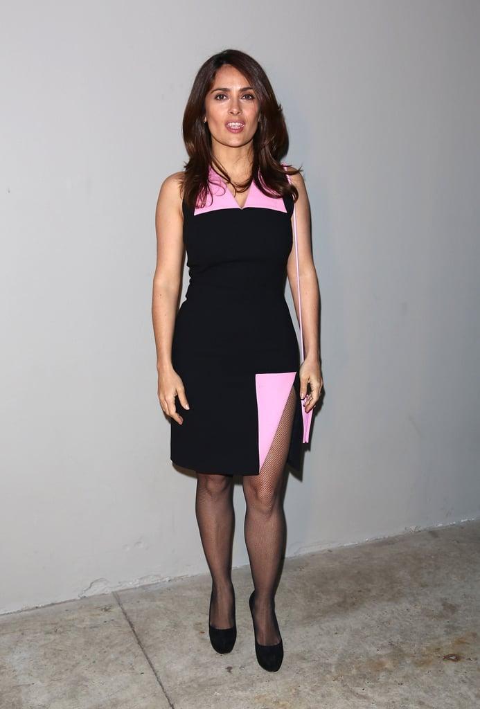 Salma Hayek at LFW
