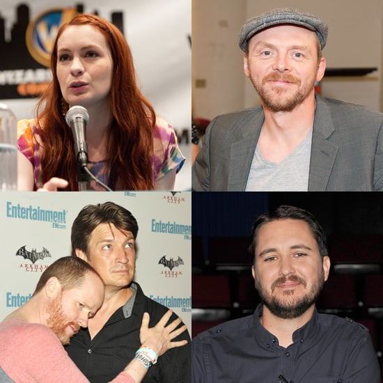 Facts About Nathan Fillion, Simon Pegg, Felicia Day