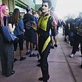 Negasonic Teenage Warhead — Deadpool