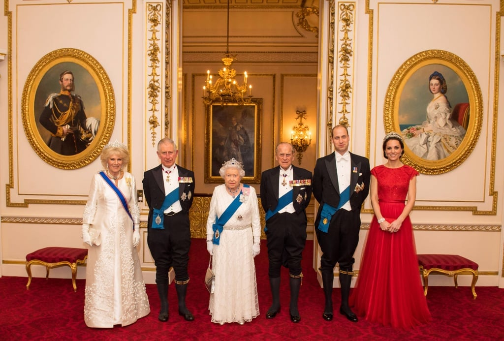 Current Members of the British Royal Family