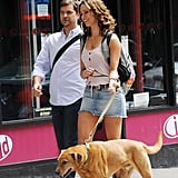 Joshua Jackson Takes an NYC Stroll With Rebecca Hall and a Cute Pup