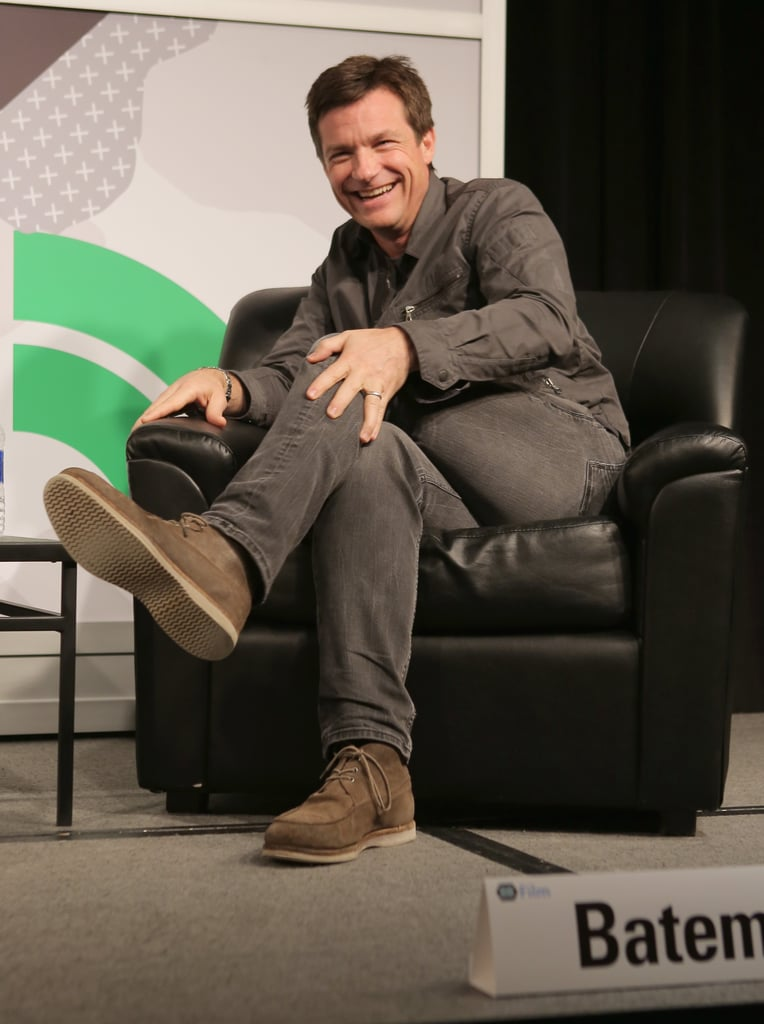 Jason Bateman laughed during a chat on Saturday.