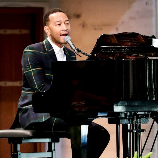 "John Legend ""Preach"" Song at Families Belong Together Video"