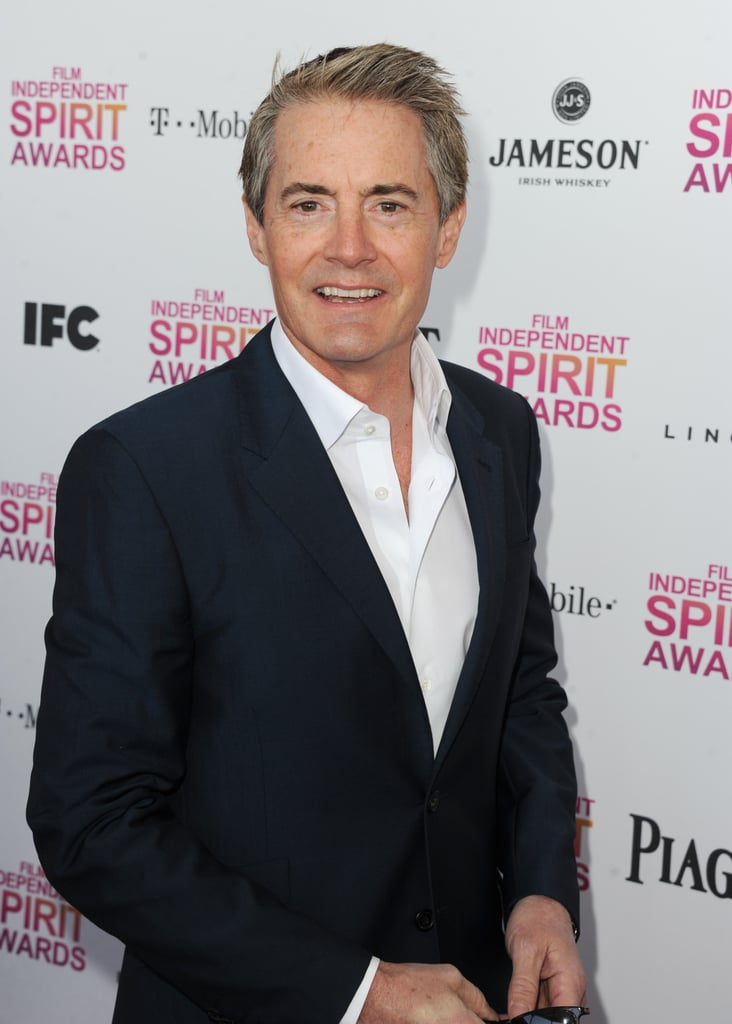 Kyle MacLachlan on the red carpet at the Spirit Awards 2013.