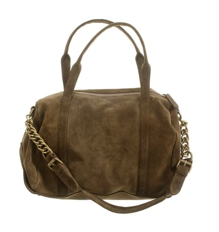 This Madewell The Voyager Suede Duffel Bag ($198) totally reminds me of Alexander Wang's bags, minus the steep price tag.
