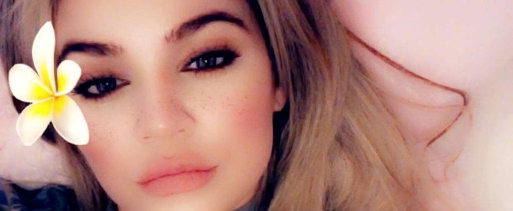 Khloe Kardashian Snapchat Photo With Baby True May 2018