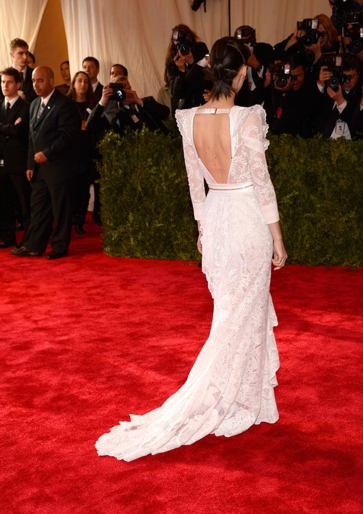 Rooney Mara at the Met Gala 2013.