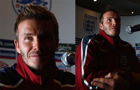 Beckham Close Up