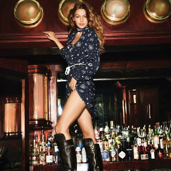 Gigi Hadid Harper's Bazaar Cover October 2016