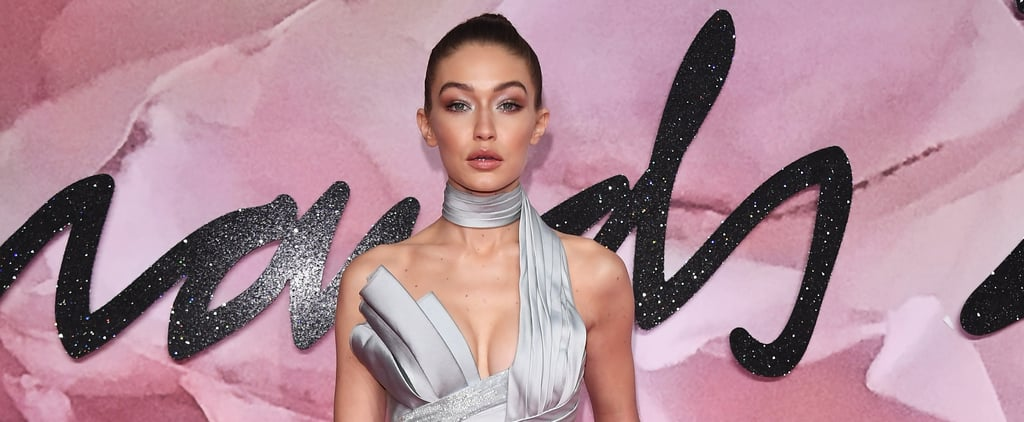 Gigi Hadid's Atelier Versace Look at the British Fashion Awards Isn't Actually a Dress at All