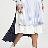Clu Colorblock Pleated Skirt
