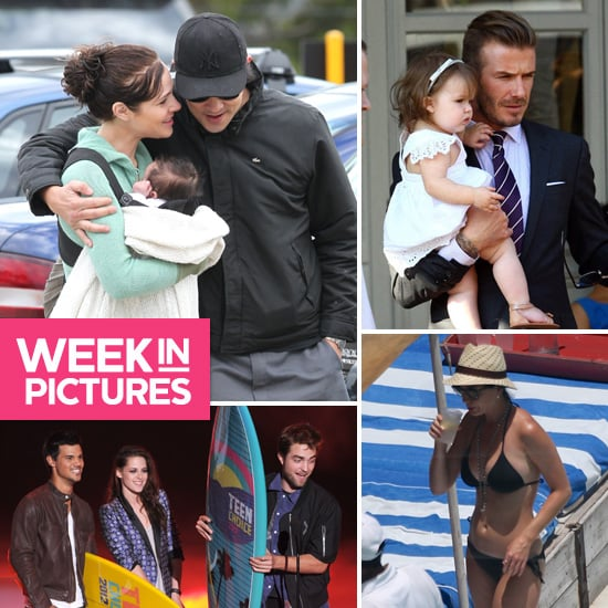 Best Celebrity Pictures of Jessica Marais' Baby, Katy Perry in Black Bikini, Kristen and Rob at Teen Choice