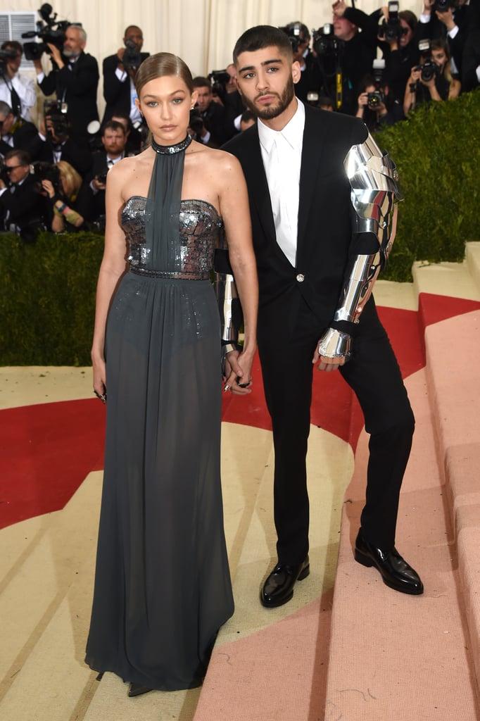 Gigi Hadid and Zayn Malik at the Met Gala 2016 | Pictures