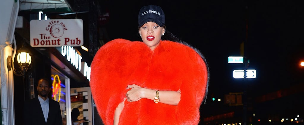 Rihanna May Be the Only One Who Could Pull Off This Saint Laurent Coat IRL