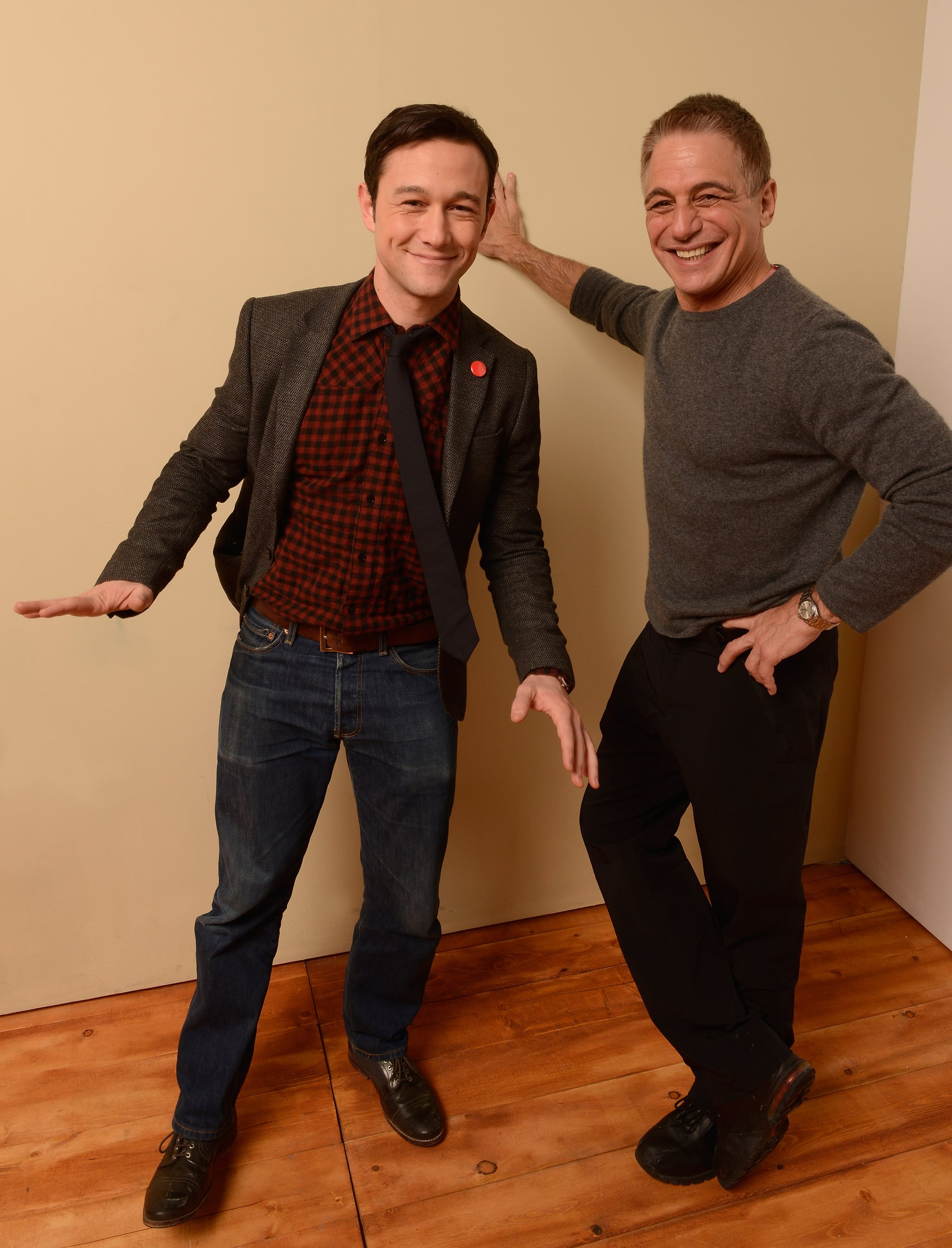 When He Got Goofy With Tony Danza in 2013, Our Hearts Stopped
