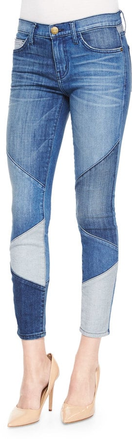 Current/Elliott Patchwork Jeans ($288)
