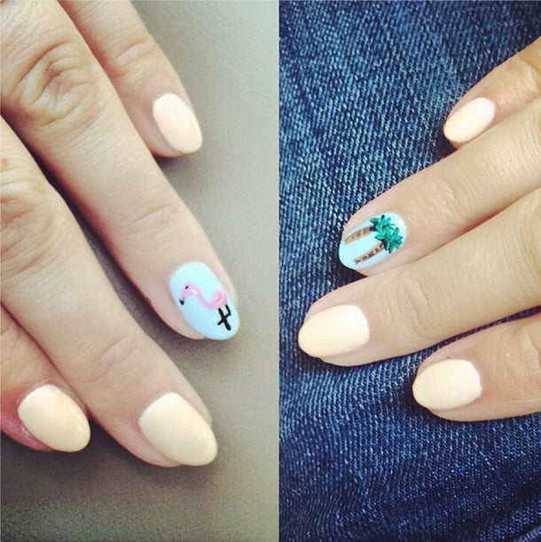Themed Nails Hit the Spot