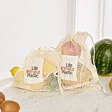 Life Without Plastic Organic Cotton Mesh Produce Bag
