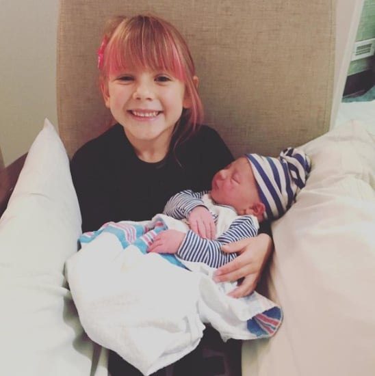 Pink Photo of Daughter Willow and Son Jameson December 2016