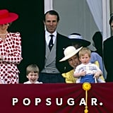 Prince Harry's Outfit At Trooping the Colour in 1986
