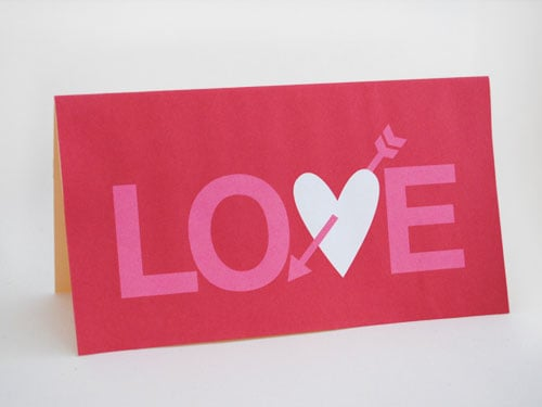 Love Arrow Valentine's Printable