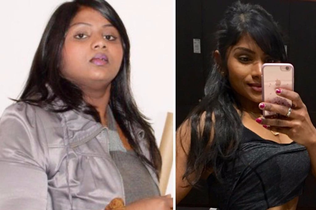 Hashi @hashi88 Before and After Weight-Loss Photos