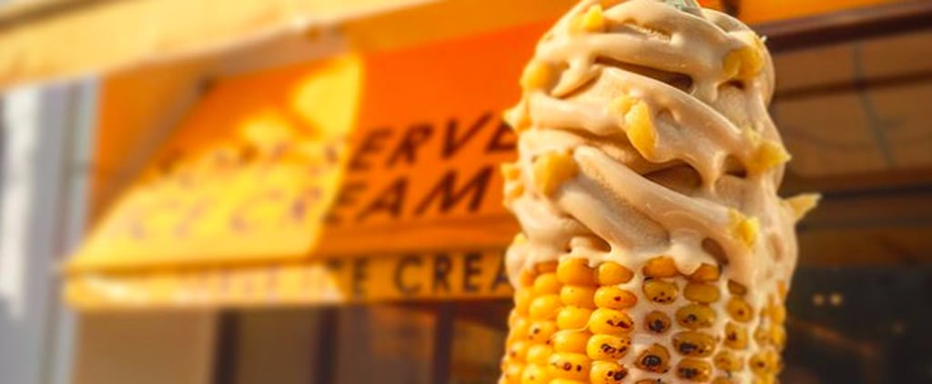 Dominique Ansel Japan Corn on the Cob Soft Serve