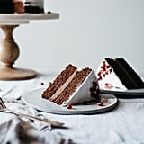 Chocolate Layer Cake With Cacao Macadamia Mousse and Coconut Whip