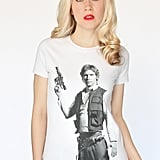 You can't go wrong with a classic: a tee with Han Solo ($17, originally $23) in all his glory.
