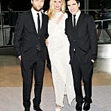 Lauren Santo Domingo with the Proenza Schouler boys, Jack McCollough and Lazaro Hernandez, at the 2013 CFDA Awards. Source: Billy Farrell/BFAnyc.com