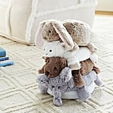 Pottery Barn Kids Small Animal Plush Stacker